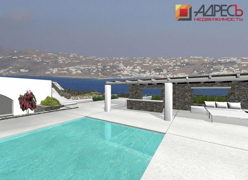 Отели в греции вилла с бассейном