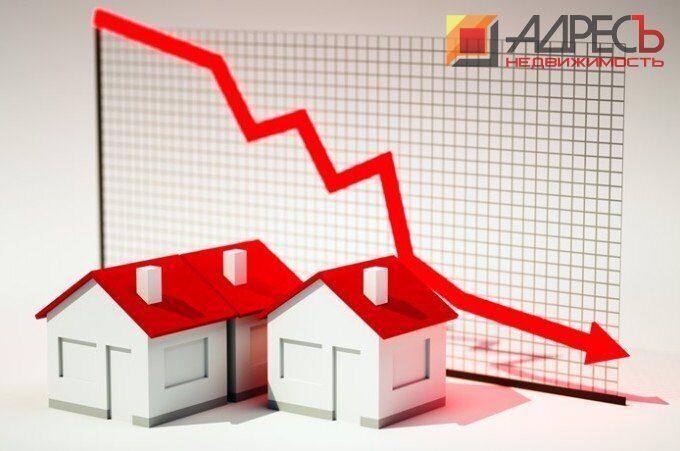 Падение продаж квартир в Москве