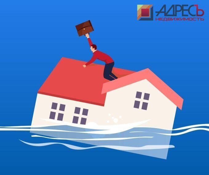 Спрос на недвижимость упал на 70 процентов в РФ